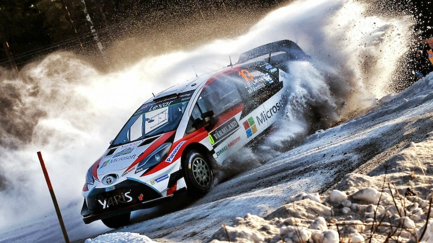 Saturday in Sweden: Latvala leads after late drama