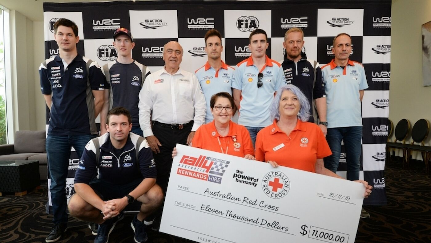 WRC supports fire-ravaged community