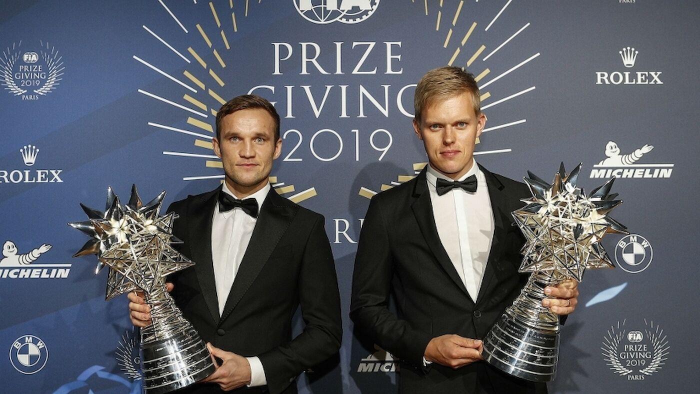 Les Champions du WRC célébrés à Paris