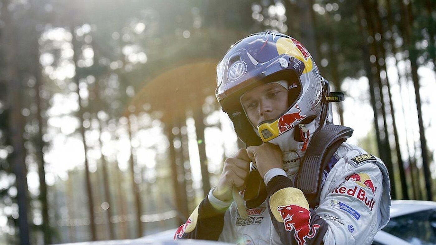 La historia del casco de Andreas Mikkelsen
