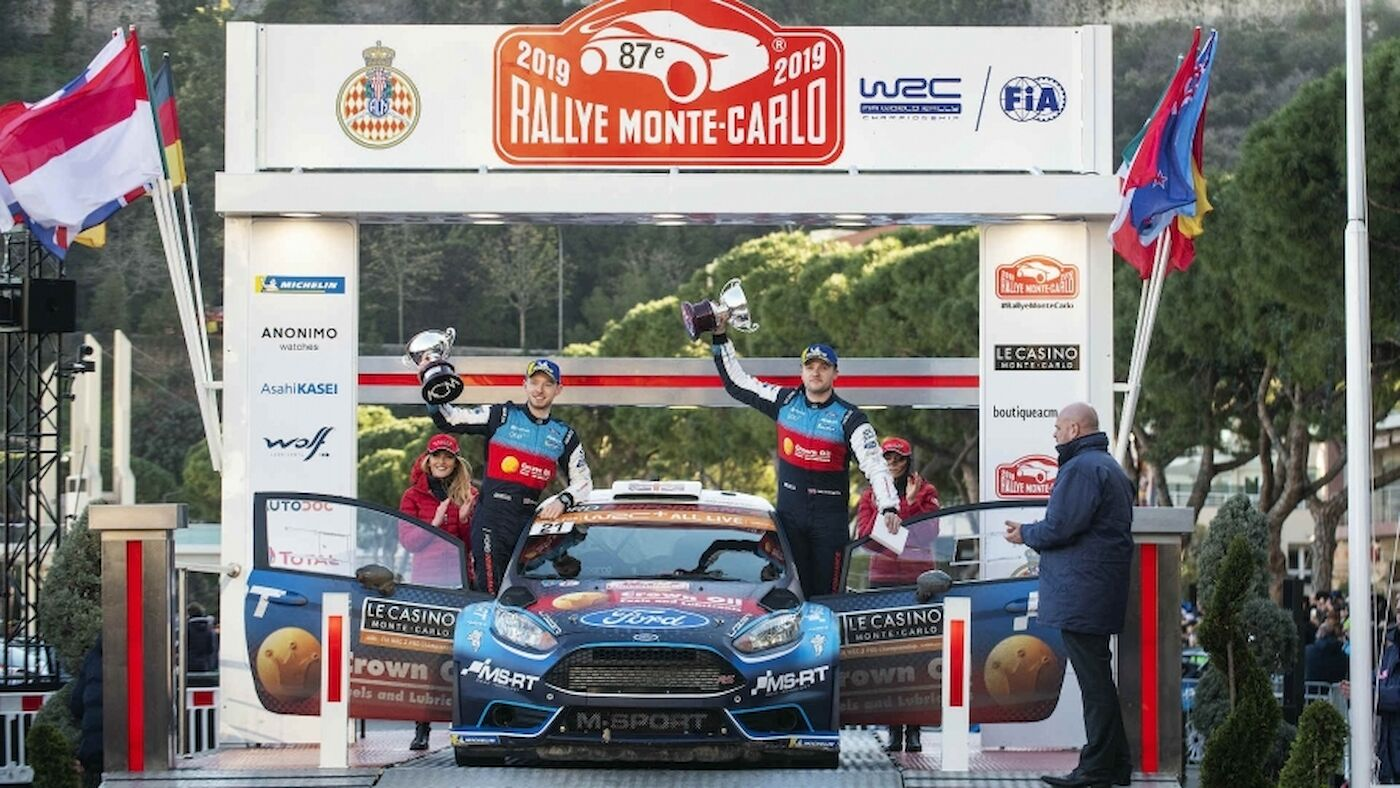 WRC 2 in Monte-Carlo: Greensmith secures Pro victory