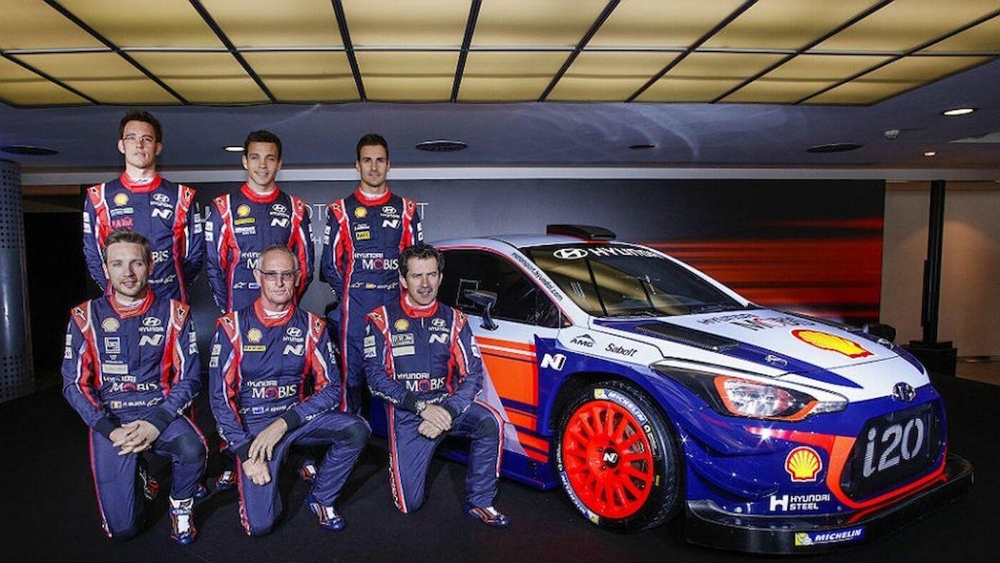 Hyundai unveils 2017 WRC challenger