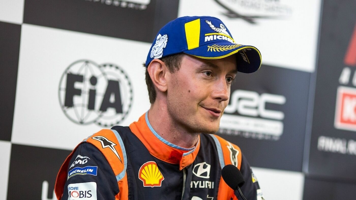 Marshall confirmed with Meeke