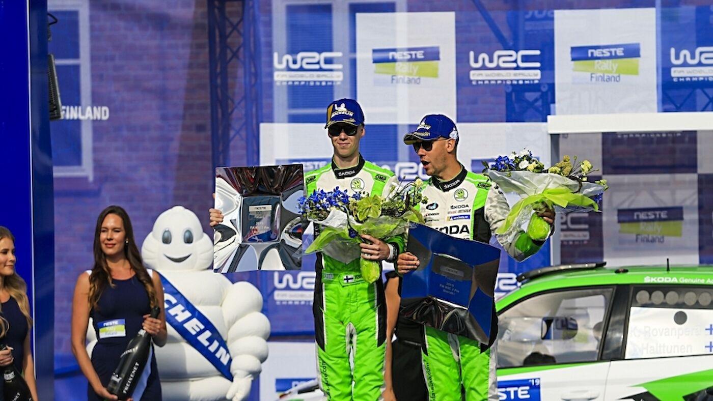 Le WRC 2 en Finlande : Rovanperä, puissance quatre
