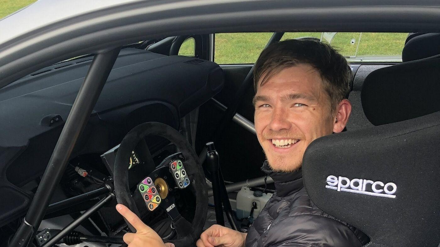 Yates con M-Sport en el WRC 2