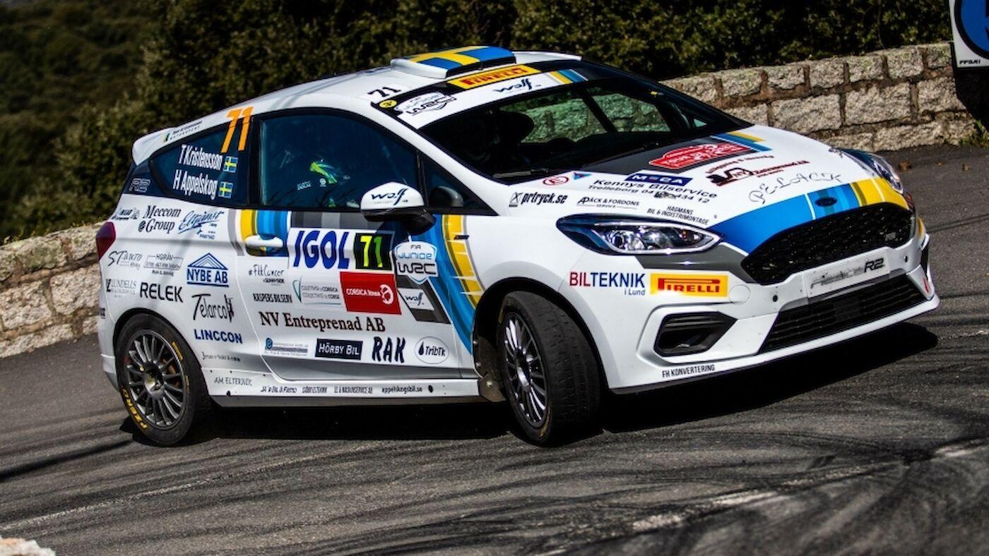 Junior WRC en Córcega Un final emocionante