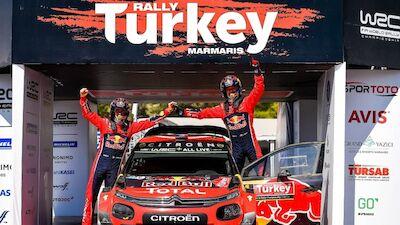 Sunday in Turkey: Ogier win rekindles title bid