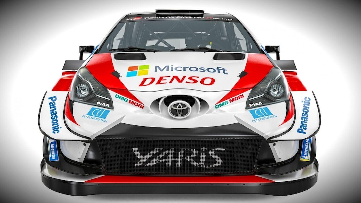 La Toyota Yaris WRC 2020 se dévoile