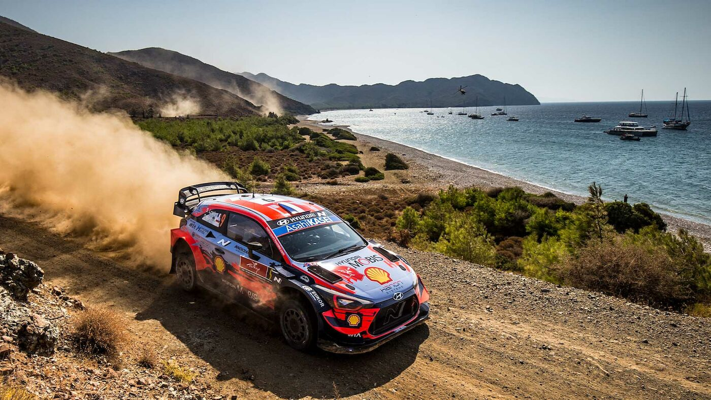 Photos WRC Rally Turkey 2020