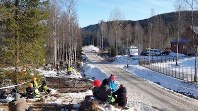 Junior WRC Driver Armstrong unhurt in high-speed crash