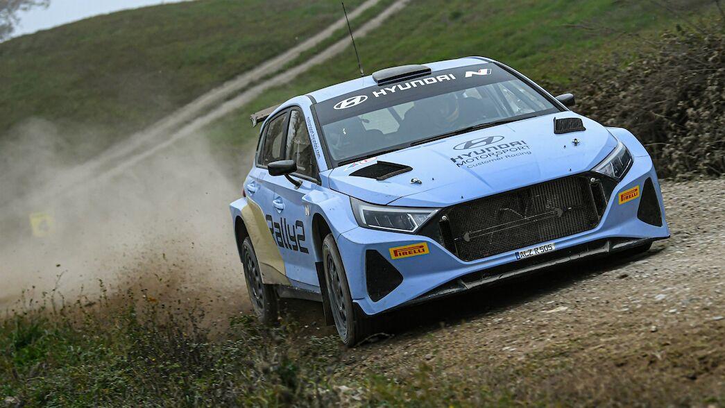 Breen elogia el desarrollo del i20 N Rally2