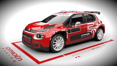 Citroën C3 Rally2: primeras fotos