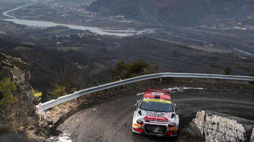 WRC 2 in Monte: Østberg out in front
