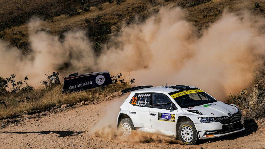 Viernes en México: Tidemand imbatible en WRC 2.