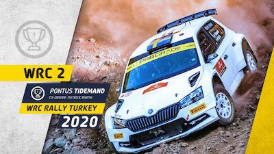 WRC 2: Tidemand takes championship lead with Turkey win