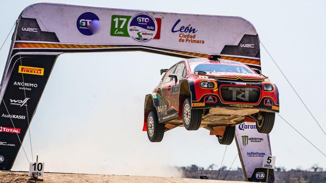 WRC 3 en México: Bulacia logra su primera victoria