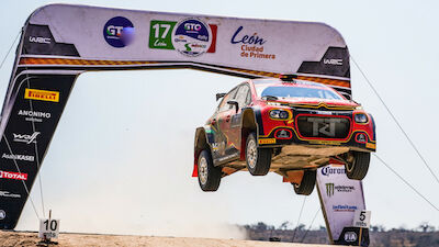 Saturday in Mexico: Bulacia bags maiden WRC 3 win
