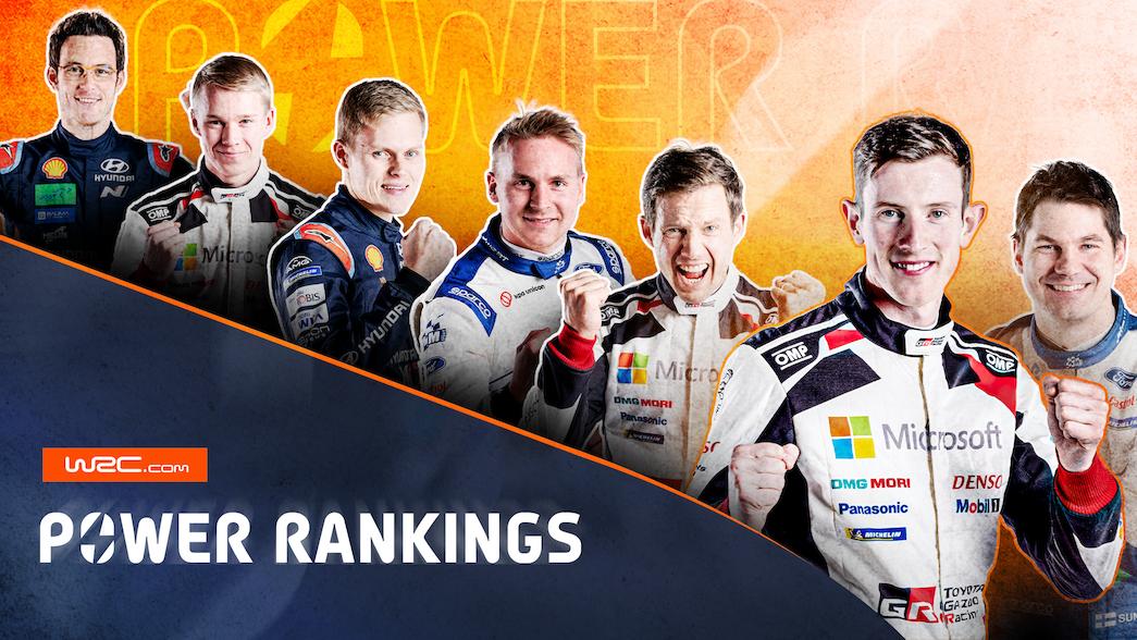 WRC Power Rankings Rd 6