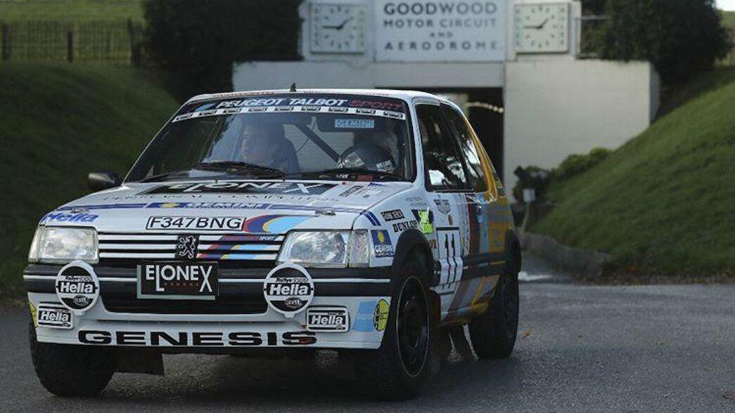 Burns' Peugeot stars at Goodwood
