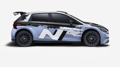 Hyundai reveals 2021 WRC support category car