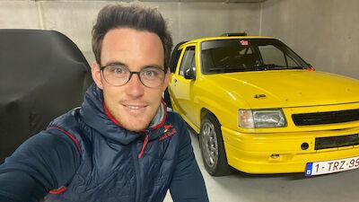 Thierry Neuville: Mi primer coche de rallyes