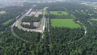 Monza: inside line on the stages
