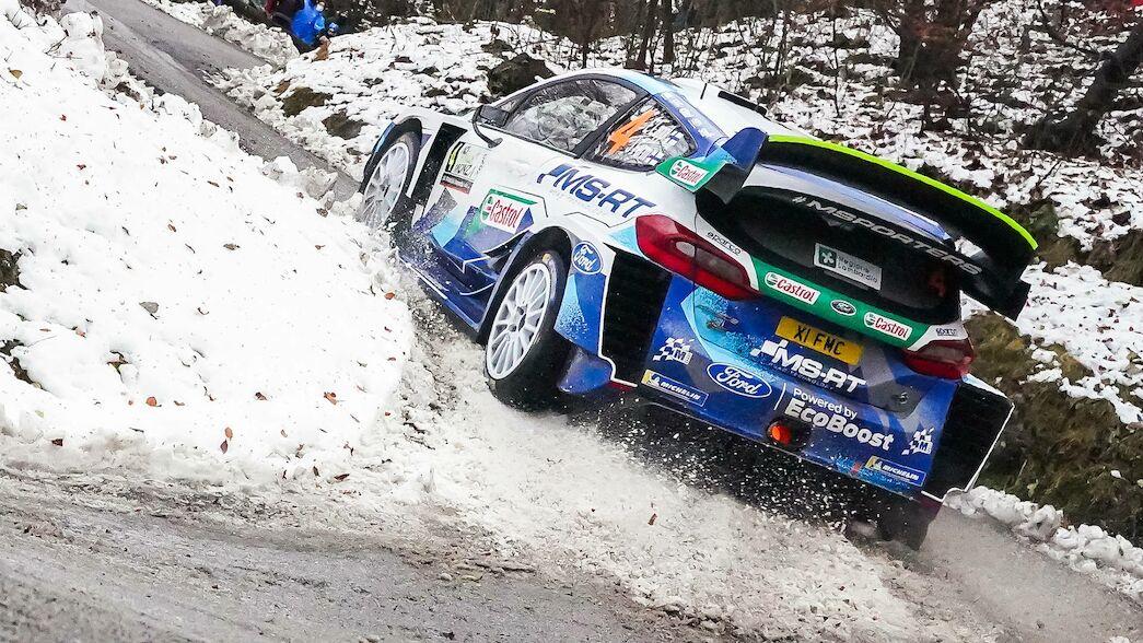 M-Sport Ford motivado por la velocidad de fin de temporada