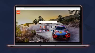 Lanzamiento de la extensión de la página de inicio de Google para los fans del WRC
