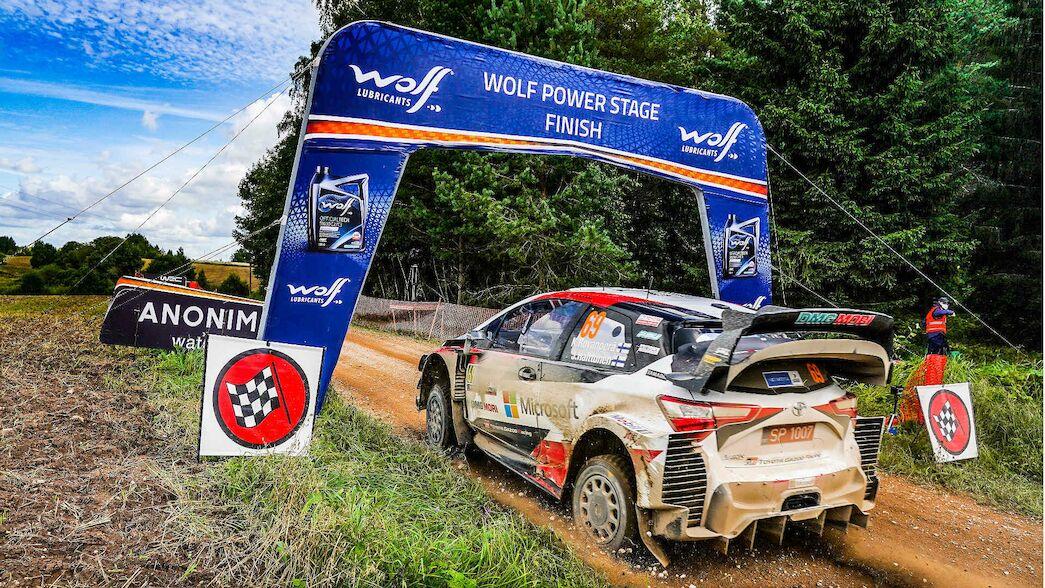 Los puntos del Power Stage se amplían a los constructores, WRC2 y WRC3