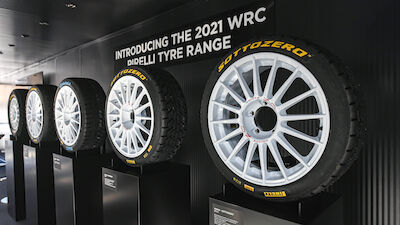 Pirelli completes opening test session with WRC teams
