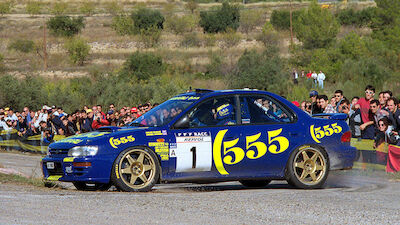 McRae family reunited with famous Impreza