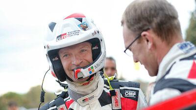 Juho Hänninen: driver turned co-driver