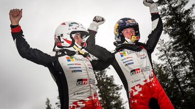 Evans completes masterful Rally Sweden win