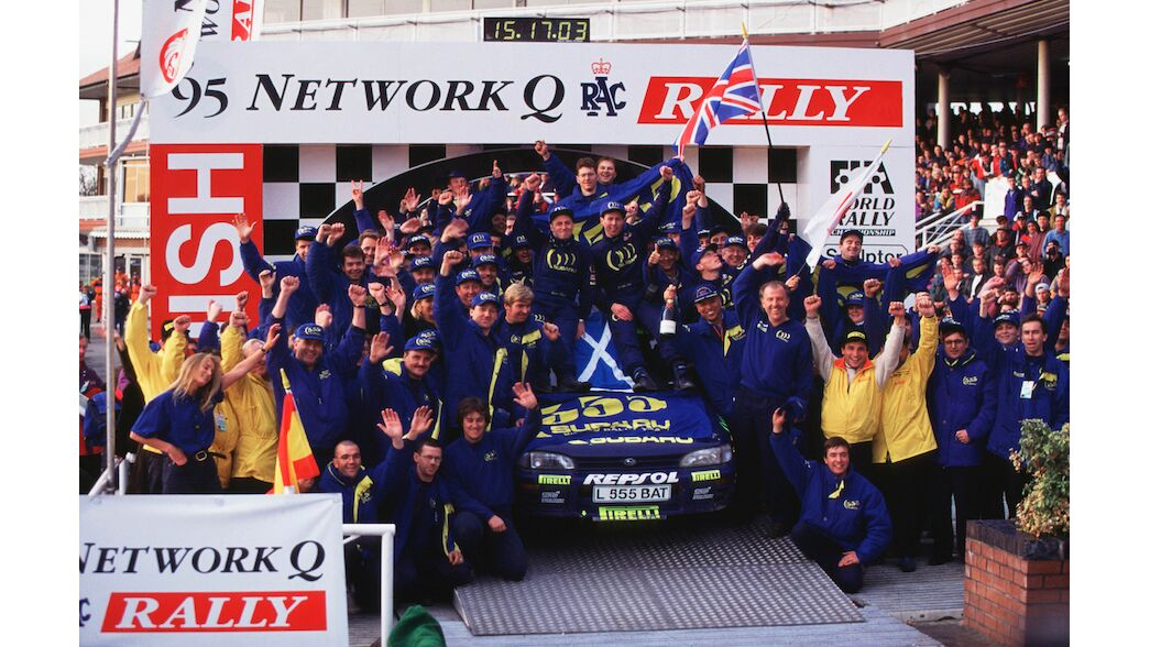 Chester honouring McRae's 1995 title
