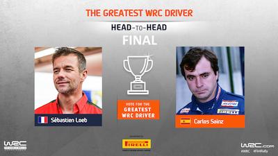 It's Loeb v Sainz in the final!