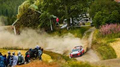 Actualización del calendario del WRC