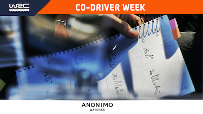 Coming up: Co-Driver Week