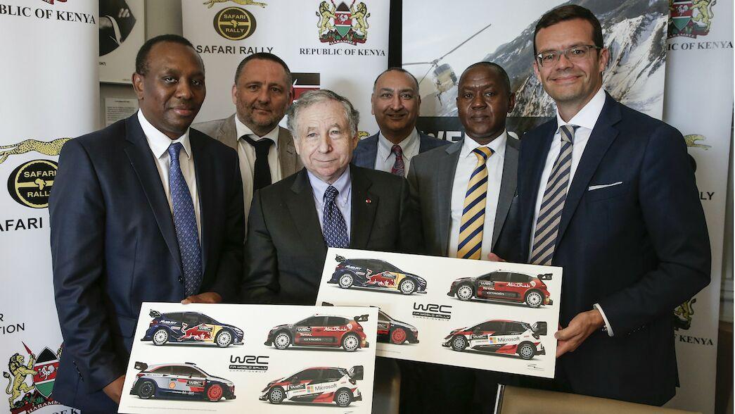 El regreso del Safari Rallye de Kenia del WRC aplazado