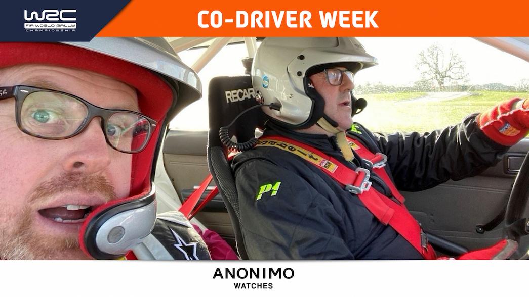 Semana del copiloto: la vida como un novato en la silla caliente