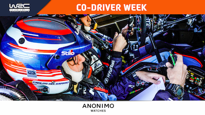 Co-driver week: the route to the top