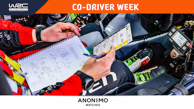 Co-driver week: the in-car office