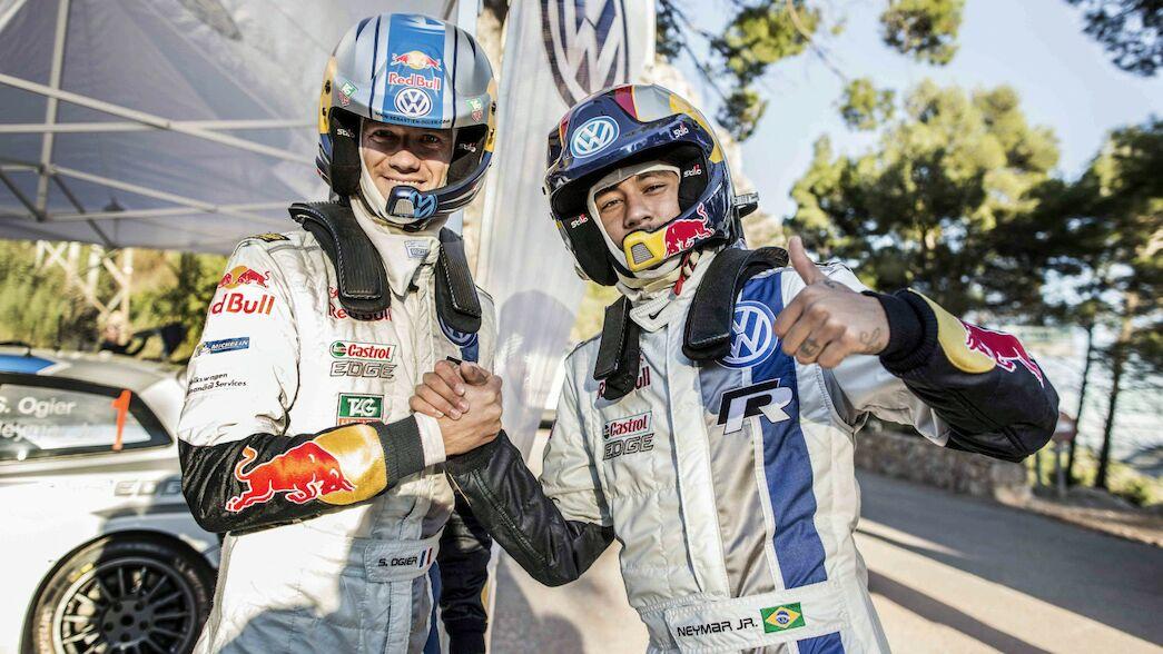 Los copilotos VIP del WRC