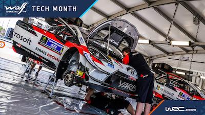 ¡Bienvenidos al mes de la tecnología del WRC!