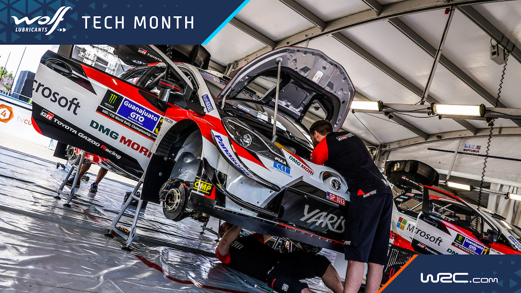 Welcome to WRC Tech month!