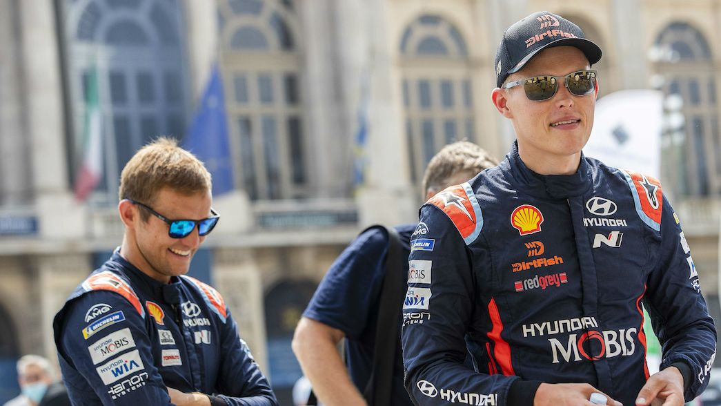 Tänak and Neuville continue WRC restart build-up