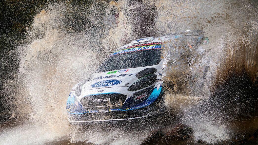 La pareja de M-Sport Ford se une al evento de preparación para Estonia