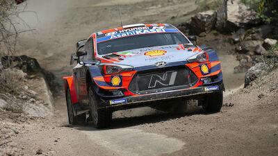 Dernier galop d'essais en Estonie pour les stars du WRC