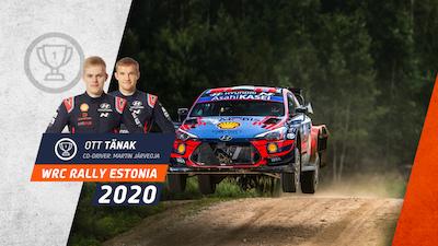 Tänak flies to Estonia win despite late fright