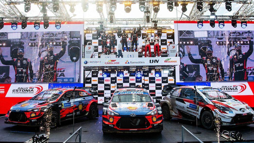 Los organizadores del Rallye de Estonia ganan el premio Asahi Kasei Team Spirit