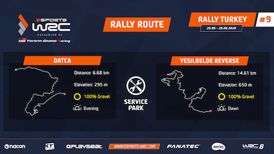 eSports WRC Championship Rd. 9 preview: Turkey